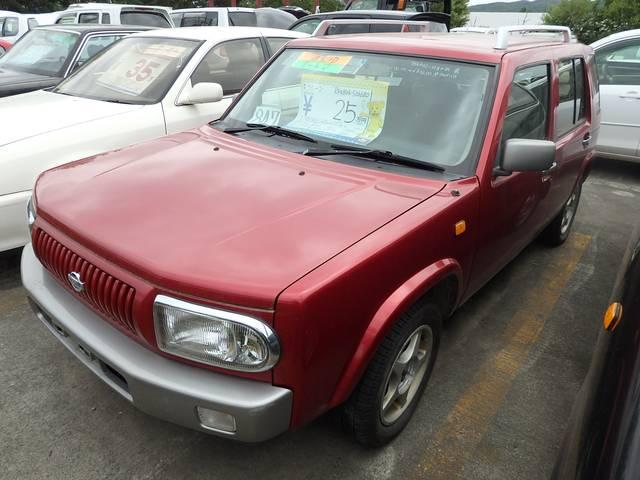 日産 ラシーン タイプA 4WD