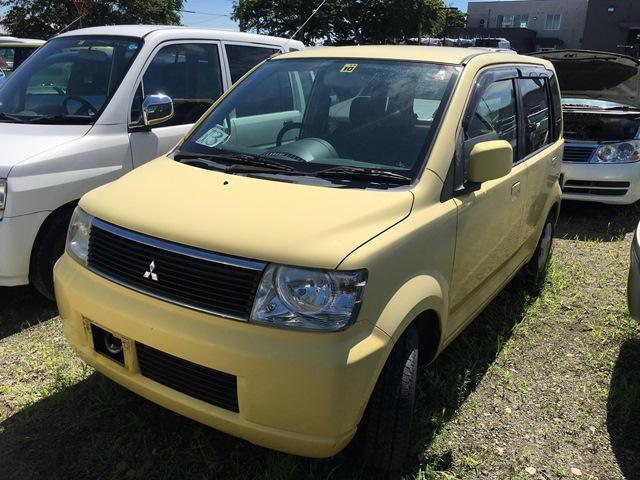 「三菱」「eKワゴン」「軽自動車」「北海道」の中古車