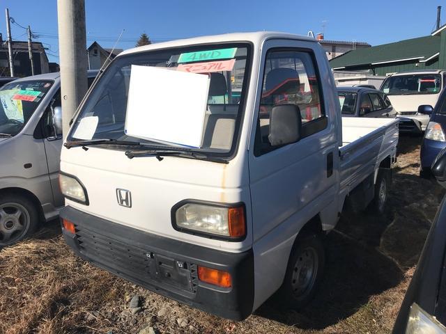 ホンダ 4WD 5MT 軽トラック ホワイト