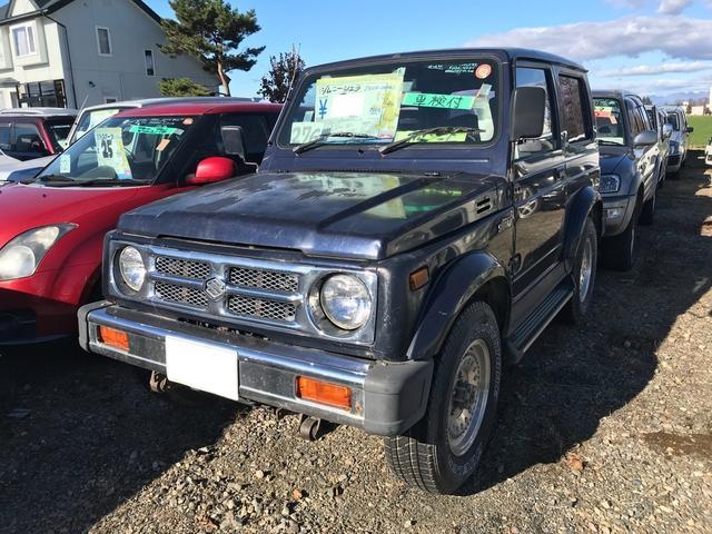 スズキ ジムニーシエラ ベースグレード 4WD 4名乗り SUV ブラック