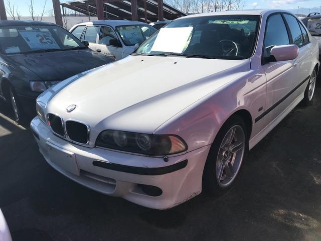 BMW 525i サンルーフ 純正アルミ