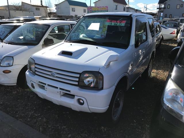 スズキ 4WD 軽自動車 ホワイト ターボ