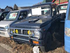 ジムニー4WD 軽自動車 ミドリ 車検整備付 5MT ターボ