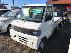 ミニキャブトラック4WD AT 修復歴無 軽トラック ホワイト 車検整備付