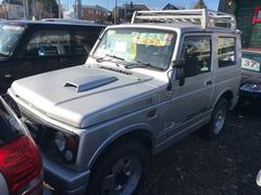 ジムニーワイルドウインド 4WD ルーフキャリア 背面タイヤ