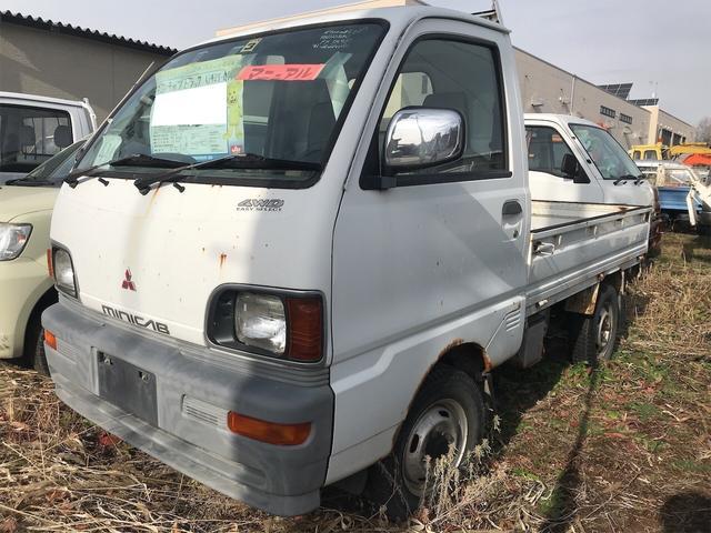 三菱 ミニキャブトラック 4WD MT 軽トラック ホワイト