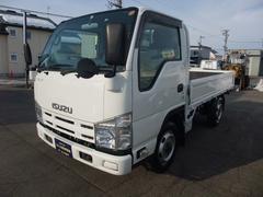 エルフトラック1.5t 平ボデー 4WD 木製3方開 シングル普通免許