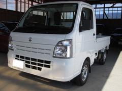 キャリイトラックKCエアコン・パワステ 4WD 3方開 届出済未使用車