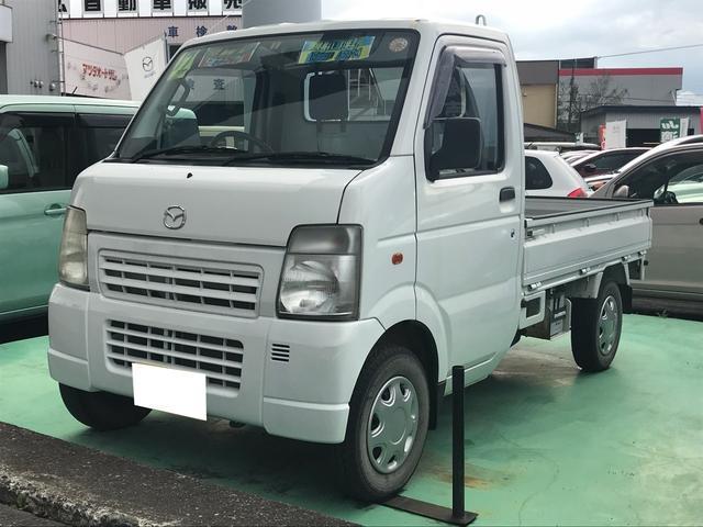 マツダ KC農繁 4WD マニュアル5速 軽トラック