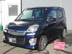 ステラカスタムR 4WD CDMD 純正エアロ ワンオーナー