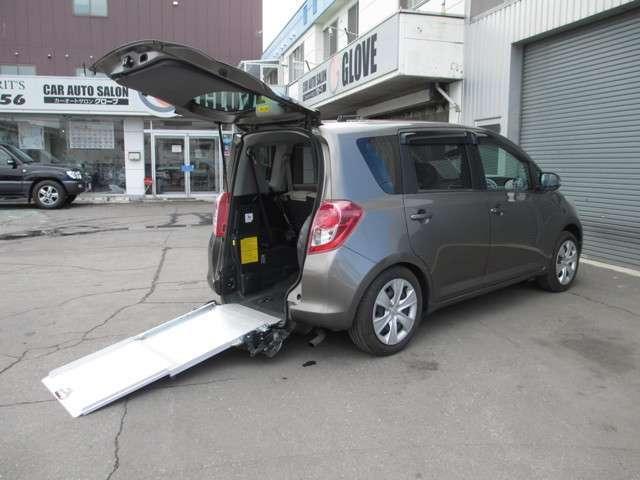 トヨタ X ウェルキャブ 車イス移動車 スローパー ナビ地デジ