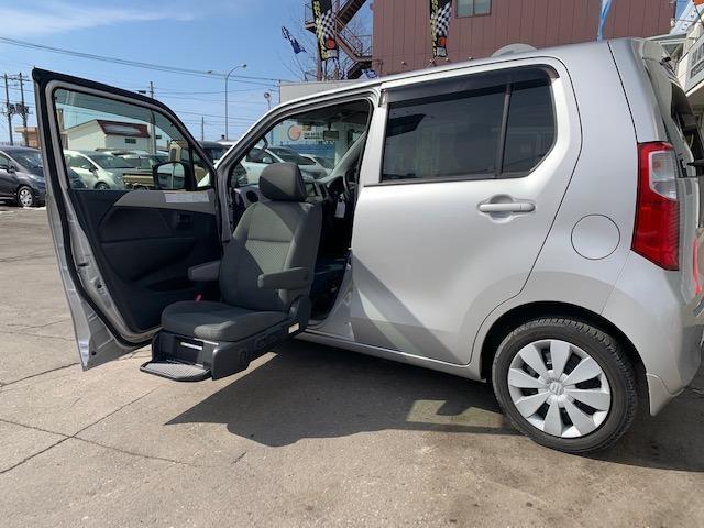 ウィズ 昇降シート車 4WD キーレス ETC 盗難防止装置(1枚目)