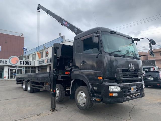 UDトラックス  セルフローダークレーン ETC 電動格納ミラー フォグライト HID