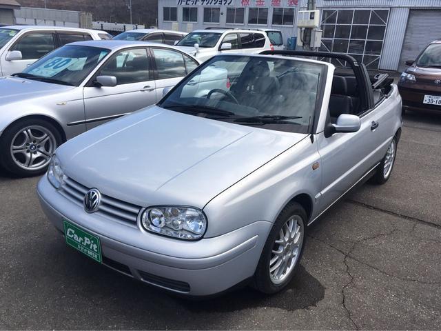 「フォルクスワーゲン」「VW ゴルフカブリオレ」「オープンカー」「北海道」の中古車