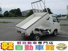ハイゼットトラックローダンプ エアコン パワステ マニュアル車 4WD