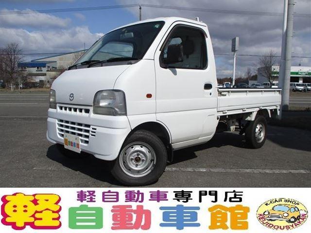 マツダ KC エアコン パワステ マニュアル車 4WD