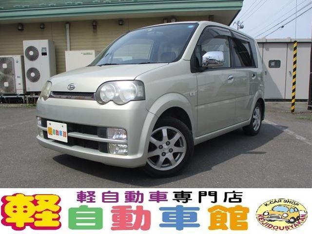 ダイハツ カスタム X マニュアル車 ABS 社外HID 4WD