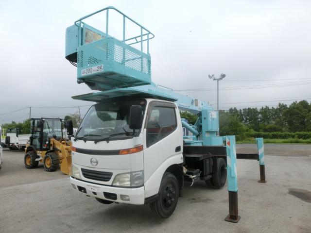 日野 12m高所作業車