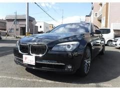 BMW750Li 革 サンルーフ 純正OP21インチアルミ