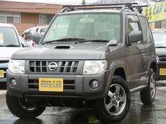 キックスRX 4WD 1年間走行距離無制限無料保証付