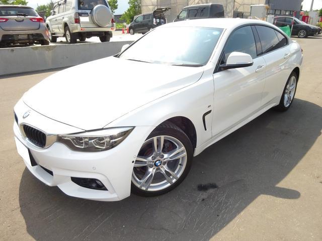 BMW 4シリーズ 420i xDriveグランクーペ 4WD ナビ バックカメラ ETC パワーシート クルーズコントロール