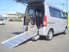 エブリイワゴン福祉車両4WD 車いす固定装置付電動ウィンチ