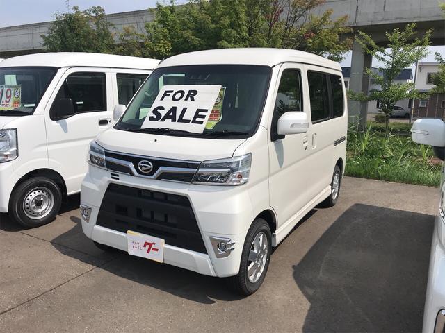ダイハツ カスタムターボRSリミテッド SAIII 軽自動車 4WD