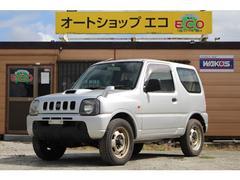 ジムニーXG 4WD キーレス ターボ Wエアバック 保証付
