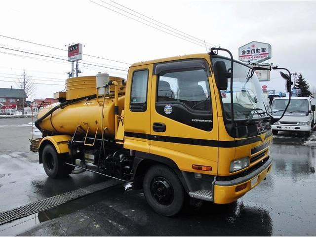 いすゞ フォワード バキュームカー KK-FRR35D4 モリタ
