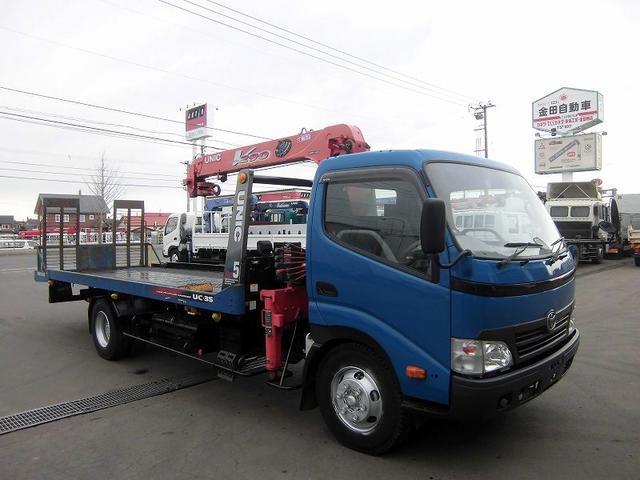 トヨタ クレーン付セフティローダ BDG-XZU434 ユニック