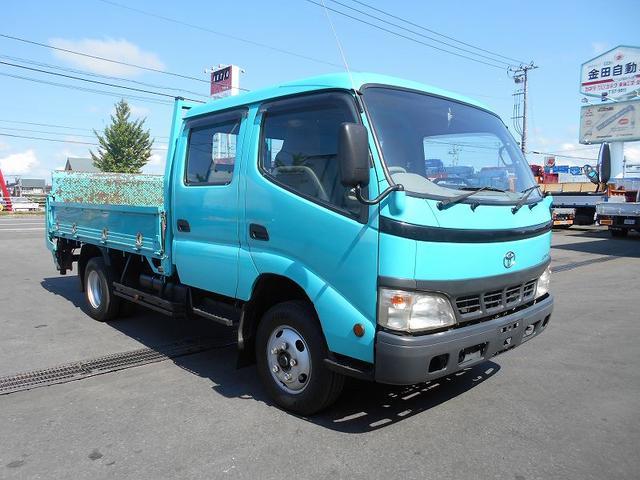 トヨタ Wキャブ PB-XZU411 極東