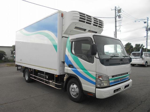 三菱ふそう 冷凍車 PA-FE83DGY デンソー