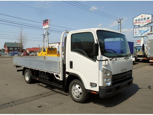 いすゞ エルフトラック 平ボディ TDG-NPS85AN 4WD