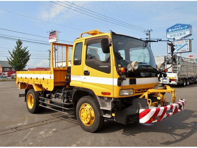 いすゞ フォワード 平ボディ PB-FRS35E3 4WD