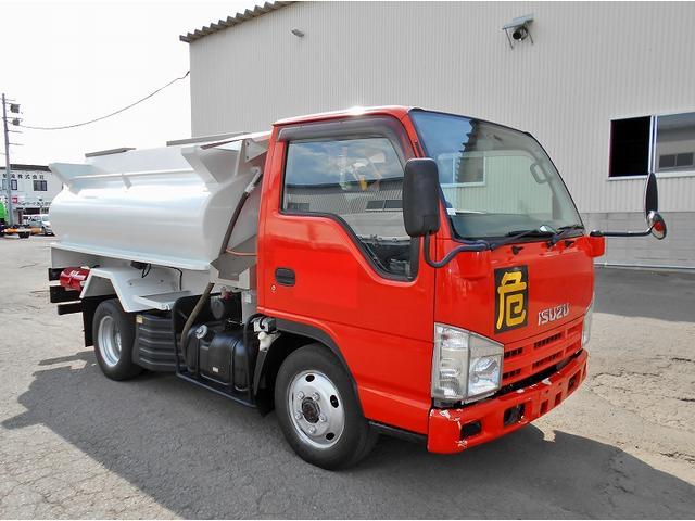 いすゞ タンクローリー BDG-NKS85AN 4WD