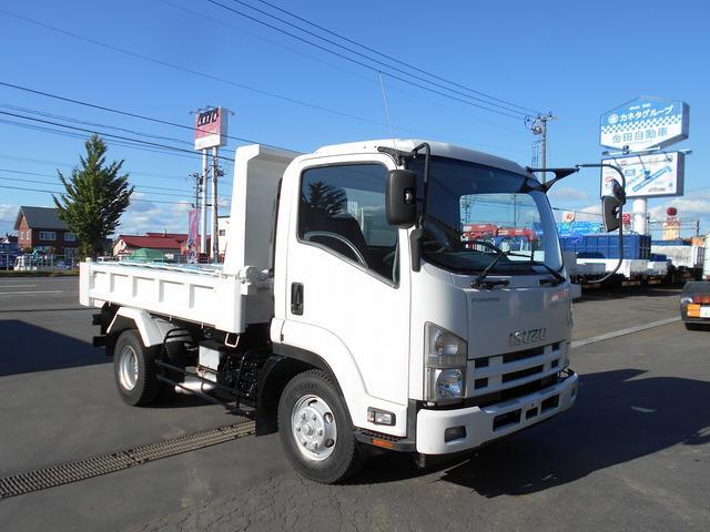 いすゞ エルフトラック LゲートダンプSKG−FRR90S1自動...