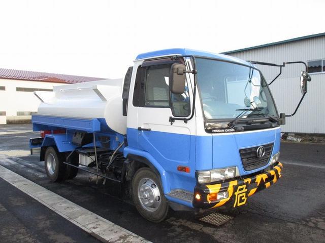 UDトラックス タンクローリー BDG-MK35C 新明和工業