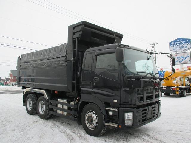 いすゞ ギガ 深ダンプ・QKG-CXZ77AT・リアダンプ式