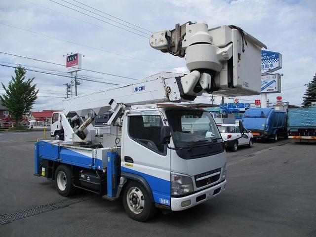 三菱ふそう 高所作業車 PA-FE73DBY アイチ
