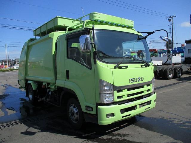 いすゞ フォワード 塵芥車 PKG-FRR90S2 新明和