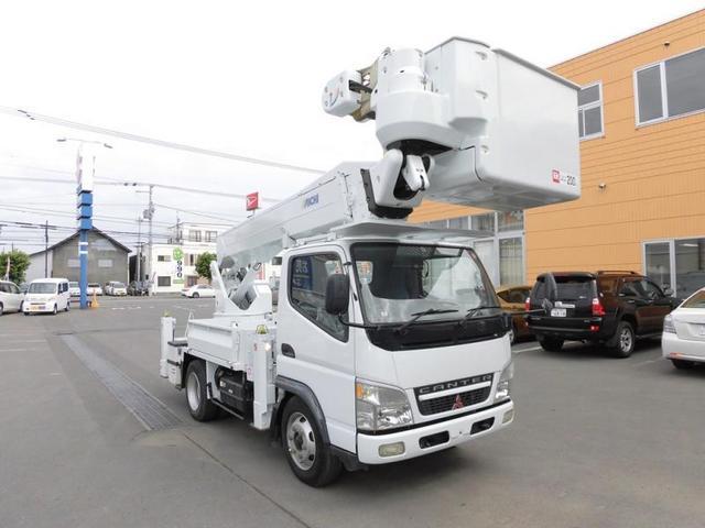 三菱ふそう キャンター  高所作業車 アイチ SH15A 14.6m バッテリーユニット式
