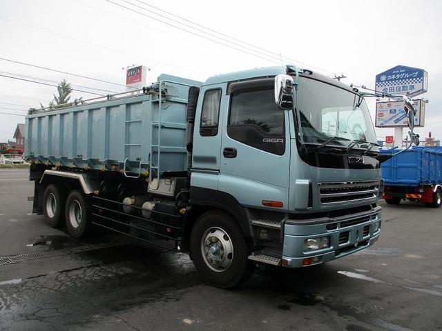 いすゞ ギガ 深ダンプ PJ-CYZ51P6 極東