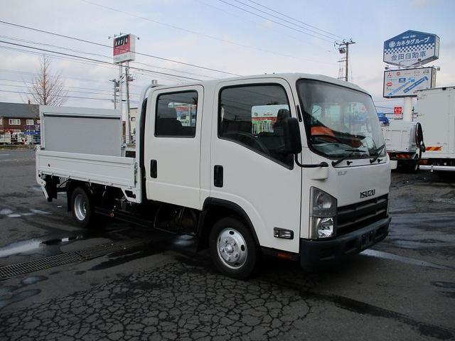 いすゞ エルフトラック Wキャブ TKG-NPR85AR 極東