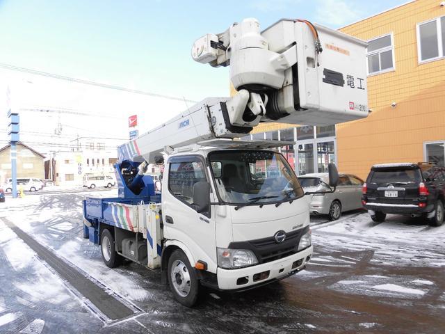 日野 デュトロ 高所作業車 上物型式SH15B 14.6m