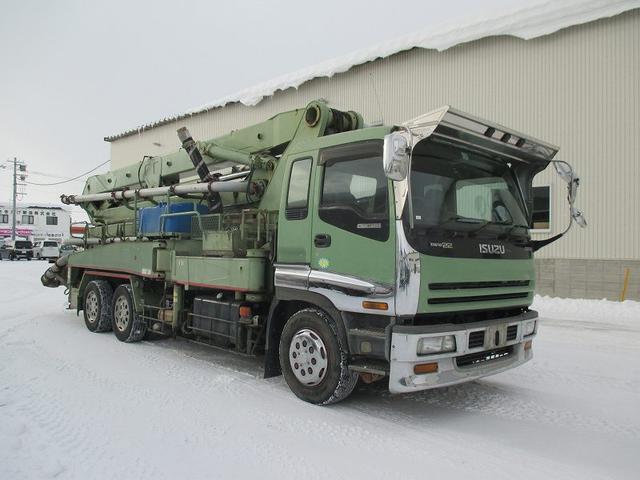 いすゞ ギガ コンクリートポンプ KC-CYZ81Q2改 IHI