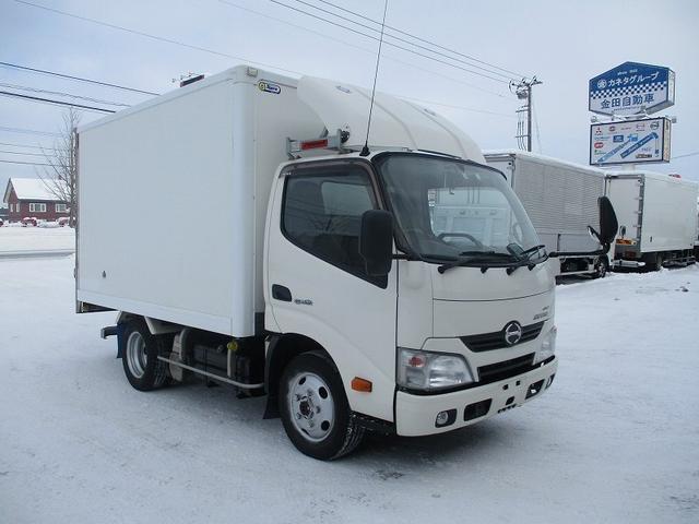 日野 デュトロ 保冷バン TKG-XZU675M 東プレ
