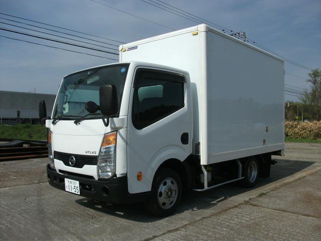 日産 アトラストラック フルスーパーローDX 4WD 1.2t 箱車 パワステ