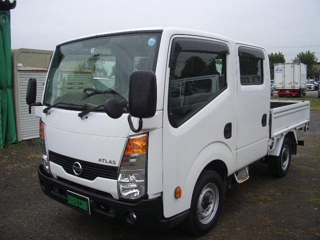日産 WキャブフルスーパーローDX 4WD ナビ TV ETC