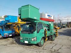 エルフトラック13m高所作業車 FRPバケット