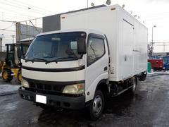 デュトロ2.3トンバン 4WD 垂直ゲート付